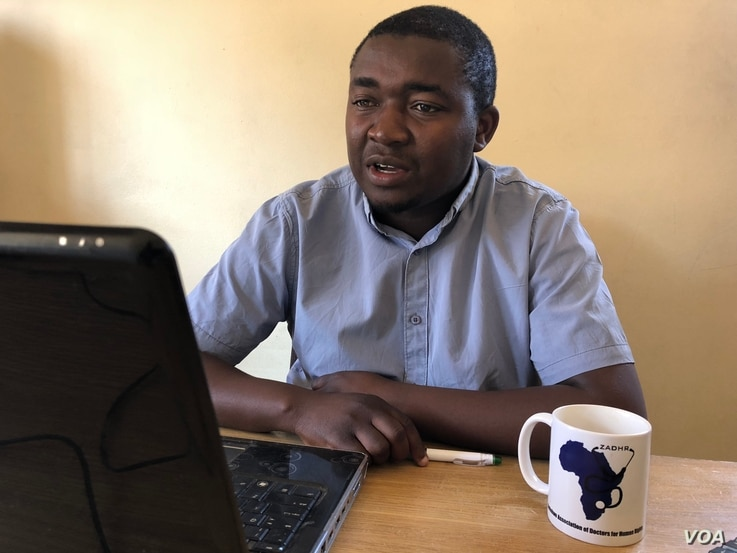 Calvin Fambirai, the head of Zimbabwe Doctors for Human Rights in Harare warns the country must improve basic sanitation to prevent further outbreaks.