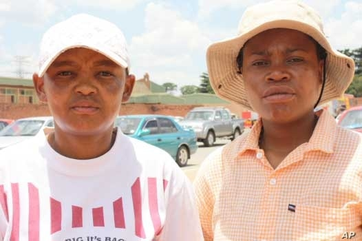 Vosloorus lesbians – Ndondo Nene (left) and Vania Cruz – say the police laugh at them when they try to report crimes against themselves