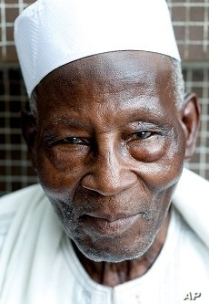 Diadie Ba was shot in the leg while fighting for the French in World War II