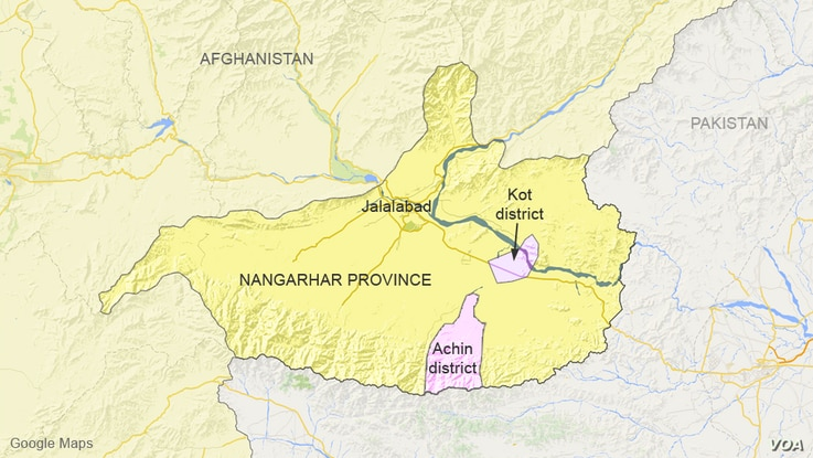 Achin and Kot districts, Afghanistan