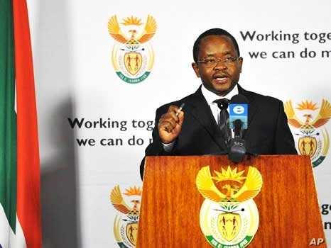 """Spokesman for South Africa's Cabinet, Themba Maseko, announces the end of a """"special dispensation"""" for Zimbabweans residing illegally in the country"""