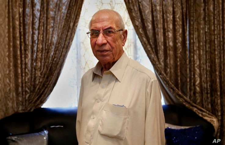 Pakistan's Mohammad Ishaq talks to the Associated Press in Rawalpindi, Pakistan, Aug. 1, 2017. Octogenarian Mohammad Ishaq's memories of the creation of Pakistan from a larger India are filled with frightful images, including a young Sikh boy from hi...