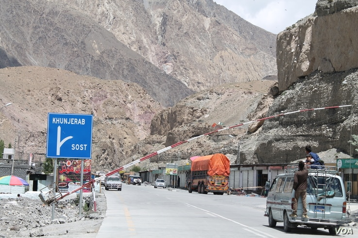 Pakistan-China border is about 90 kilometers from Sost.