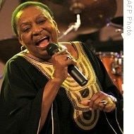 """This year's Cape Town International Jazz Festival included a tribute to """"Mama Africa"""",  the late legendary singer Miriam Makeba"""