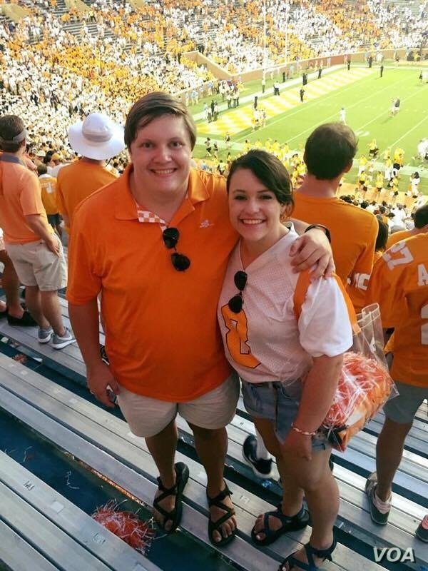 """Dakota Raines and his twin sister, Hannah, are among the growing number of """"boomerang"""" kids. Dakota has moved back in with his parents in Tennessee, and Hannah plans to do the same in May. (Photo courtesy of Hannah Raines)"""