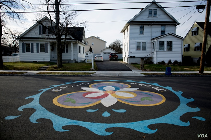 A 24 kilometer drive from Trump National Golf Club, Bound Brook, New Jersey, is home to a diverse immigration population, including Morales and Diaz.