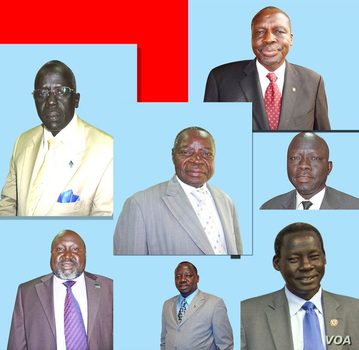 Seven of 11 South Sudan political detainees released