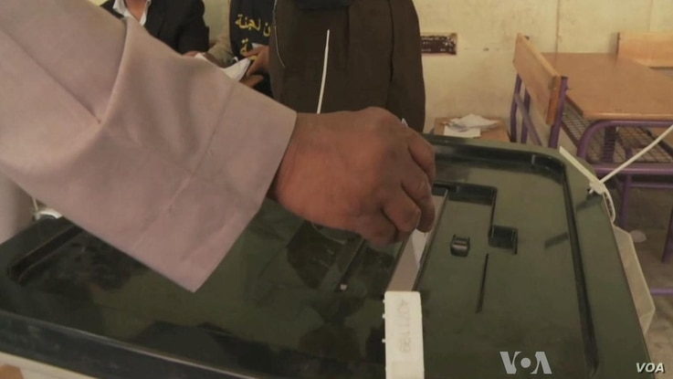 Egyptians Flock to Polls for Historic Election