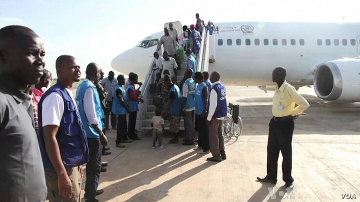 Airlift Returns South Sudanese Refugees Home