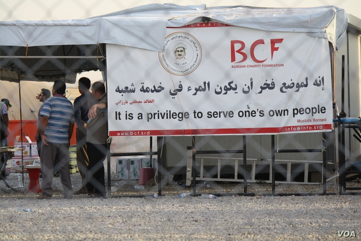 """The Barzani Charity Foundation operates 14 camps and several other large humanitarian projects in the region. BCO President Mousa Ahmed says the flight cancellations will have a """"severe impact"""" on the the refugee and displaced families it serves on S..."""