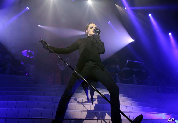 Cardinal Copia with Ghost performs during the A Pale Tour Named Death at the Coca-Cola Roxy on Friday, November 30, 2018, in Atlanta.