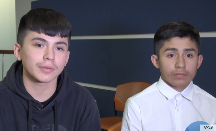 Milton Hernandez, 15, and his younger brother face going into the foster care system or being adopted by another family if their parents lose their protected status.