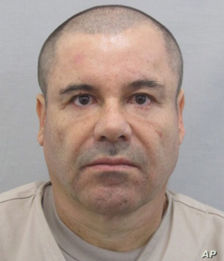 """This photo provided by Mexico's attorney general, shows the most recent image of drug lord Joaquin """"El Chapo"""" Guzman before he escaped from the Altiplano maximum security prison in Almoloya, west of Mexico City,  July 12, 2015."""
