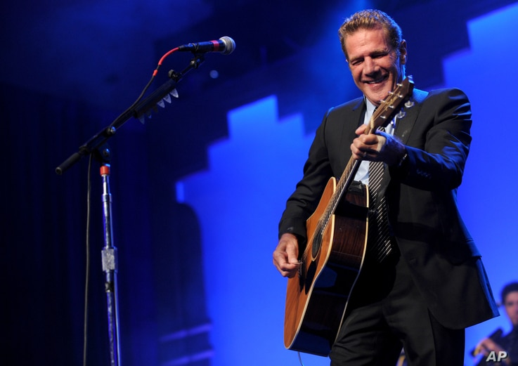 "Glenn Frey performs at the 12th Annual Starkey Hearing Foundation ""So The World May Hear"" Gala in St. Paul, Minnesota, Aug. 4, 2012."