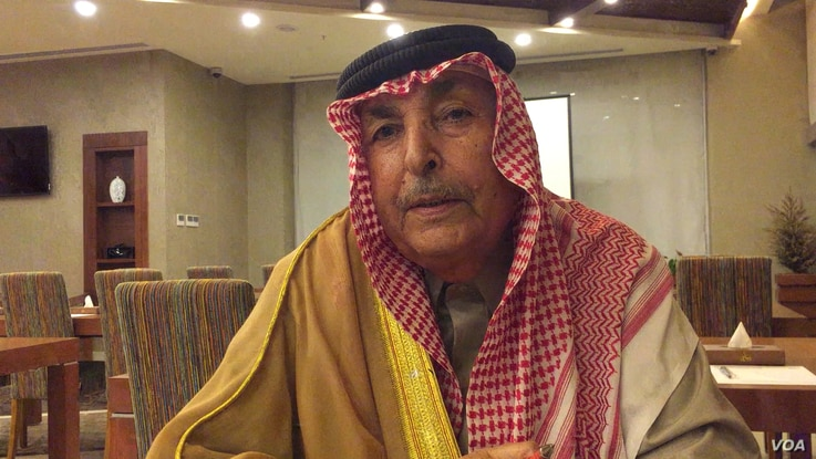 """Major General Abdel Razzaq Mijbil al Waggaa, an older Sunni sheikh who served in Saddam Hussein's army before the United States disbanded it in 2003, says the Sunnis' biggest problem is that """"we don't have real political and religious leaders.""""..."""