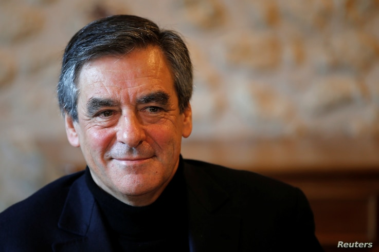 Francois Fillon, member of Les Republicains political party and 2017 presidential candidate, attends an event in Chantenay-Villedieu,  France, Dec. 1, 2016. Fillon is a former prime minister.
