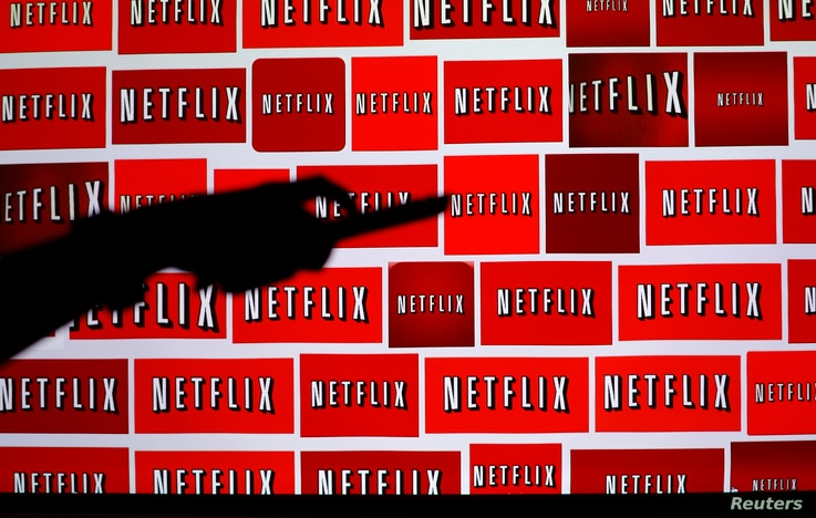FILE - The Netflix logo is shown in this illustration photograph, Oct. 14, 2014.