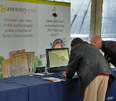 Websites like Ancestry.com help newbies get launched on family history research.
