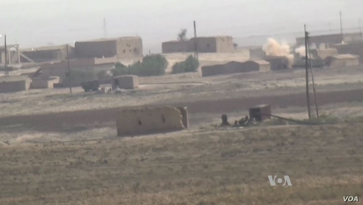 The Iraqi military launched Operation Conquest last week to push Islamic State out of the city of Mosul. Fighting between the army and the militants is heavy, and the offensive is expected to take many months.