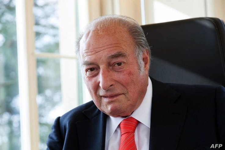 Undated handout photo provided by the Marc Rich Group on June 26, 2013, shows Marc Rich, founder of Glencore, who has died at the age of 78.