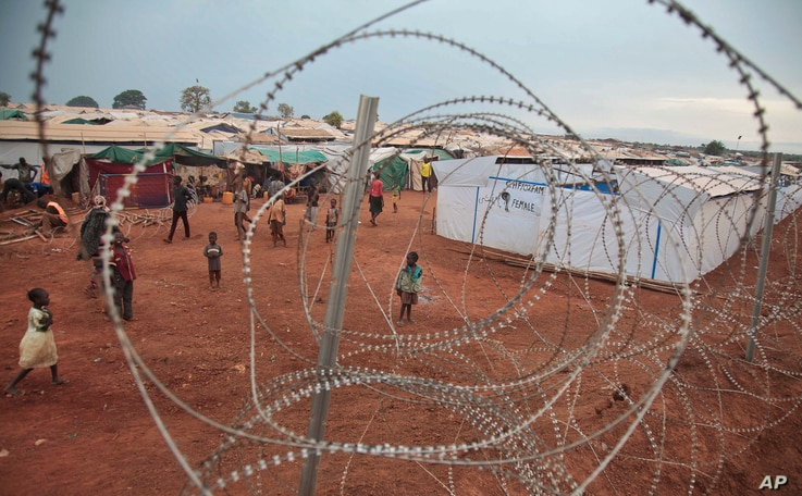 The United Nations' protected camp in Wau, South Sudan, now the most congested internally displaced camp in the country, with almost 40,000 inhabitants, May 14, 2017.