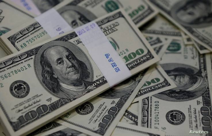 The U.S. dollar traded higher against most other currencies in December.