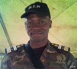 Kwene Beltus, a senior official in the Cameroonian military, was killed Feb. 14, 2016, by a landmine. (M.Edwin Kindzeka/VOA)