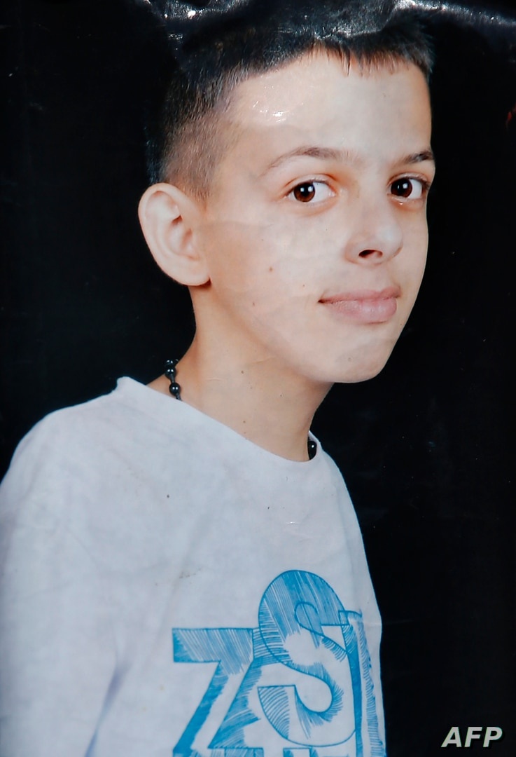 An undated family handout picture obtained on July 2, 2014 shows 16-year-old Mohammed Abu Khdeir, a Palestinian teenager who was burned to death after being abducted.