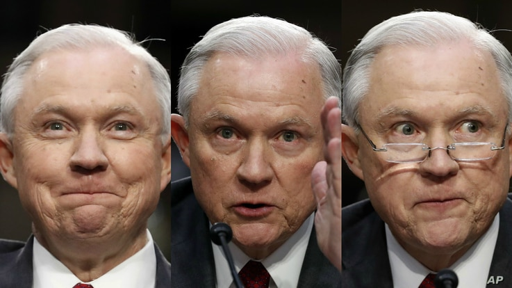 Attorney General Jeff Sessions testified before the Senate Intelligence Committee regarding Russia's meddling in the 2016 presidential election and the recent firing of FBI Director James Comey by President Donald Trump.