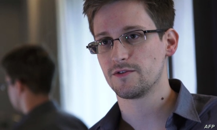 Edward Snowden, who has been working at the National Security Agency for the past four years, speaking during an interview with The Guardian newspaper at an undisclosed location in Hong Kong, June 6, 2013.
