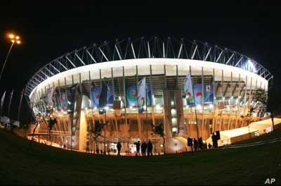 The Royal Bafokeng Stadium in Rustenburg, South Africa,where England faces the United States in its opening World Cup game on June 12