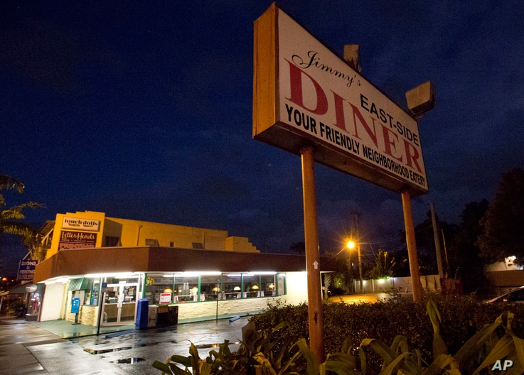 Jimmy's Eastside Diner is shown in Miami, Jan. 11, 2017.