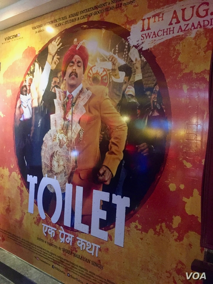 Starring one of India's top heroes, Akshay Kumar, the film tells the story of a bicycle shop owner's efforts to overcome his father's resistance to building a toilet in the house after his wife walks out on him because she refuses to go into the fie...