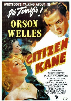 """Orson Welles' """"Citizen Kane"""" is considered by many critics to be the greatest film ever made"""