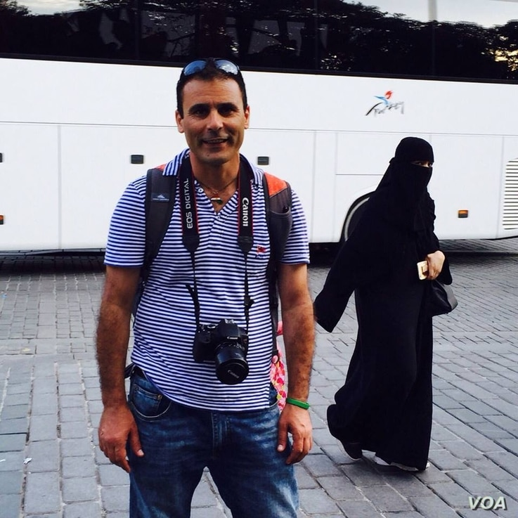 "Reza ""Robin"" Shahini, who was born in Iran and emigrated to the U.S., was detained in July 2016 in Gorgan, Iran, where he traveled to visit his mother and other family members."