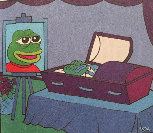 A controversial cartoon frog has been killed off by its creator. (Matt Furie)