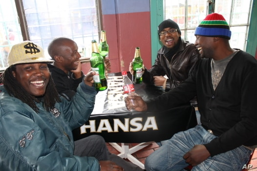 South Africans in bars around South Africa are backing the Black Stars