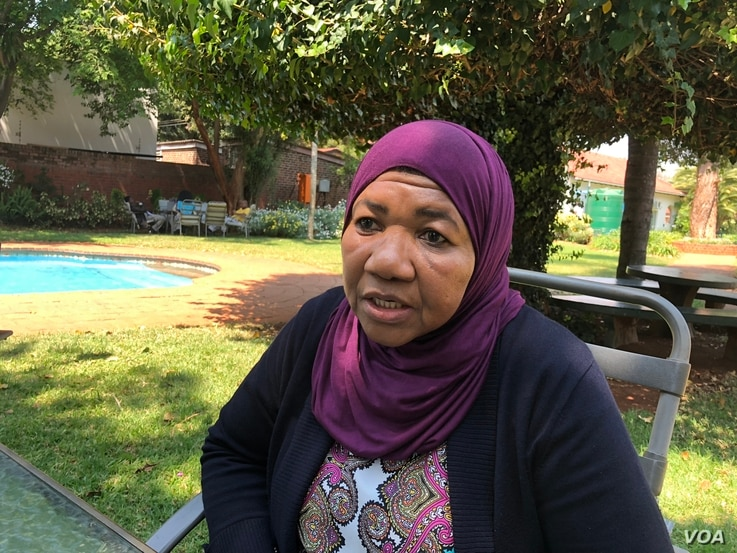 Amina Mohammed, the deputy chief of the U.N. Children's Fund (UNICEF), says her organisation is importing more drugs to combat cholera and is optimistic the situation is improving and stabilizing, in Harare, Zimbabwe, Sept. 14, 2018. (C. Mavhunga/V...