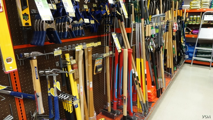 The Mount Carroll Home Center in Mount Carroll, Ill., sells many items to spruce up a home, but it also sells a wide variety of hardware items, tools and farm supplies.
