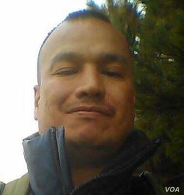 "Paul Castaway, Lakota Native victim of police shooting July 12, 2015.  His mother said this photo was taken ""in happier times.""  (Courtesy/Lynn Eagle Feather)"