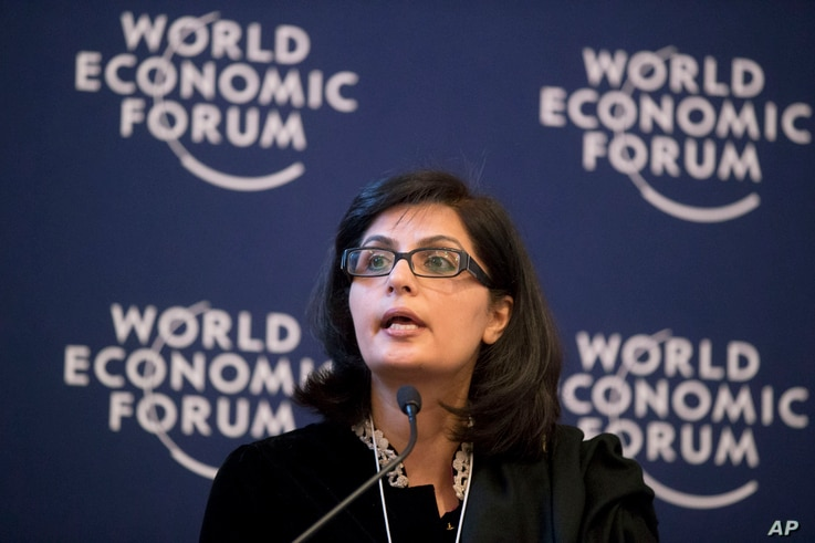 Pakistani cardiologist, author and activist, Sania Nishtar - seen in this 2013 photo - says she believes she can make the World Health Organization an even more relevant body.