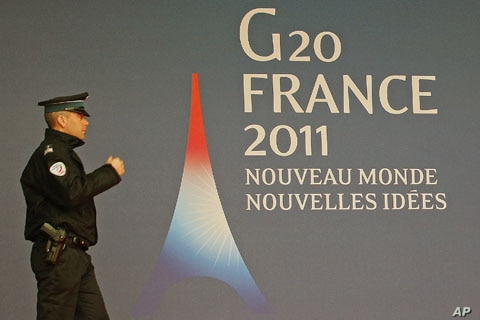 Some activists said the G20 summit failed to live up to its slogan 'New World, New Ideas.'
