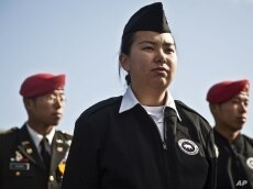 In the San Francisco Bay area, 42 percent of military recruits so far this year have been Asian-American.