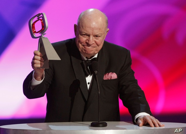 Don Rickles accepts the legend award at the TV Land Awards, April 19, 2009, in Universal City, California.