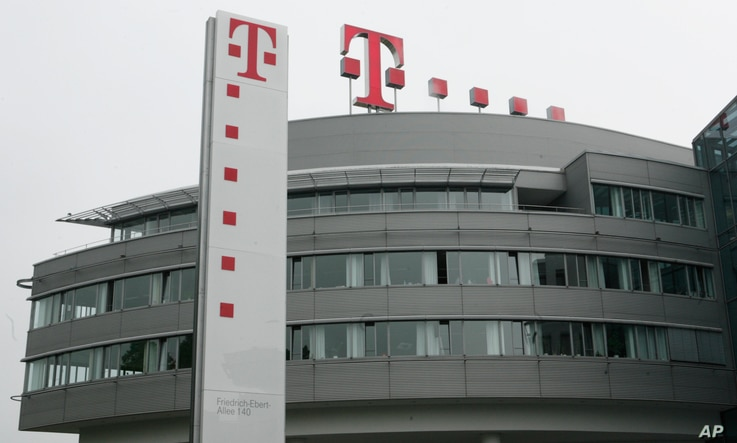 The company headquarters of Deutsche Telekom AG is pictured in Bonn, Germany, May 30, 2008.