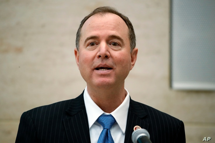 Rep. Adam Schiff, D- Calif., ranking member of the House Intelligence Committee, speaks at the University of Pennsylvania in Philadelphia, Feb. 1, 2018.