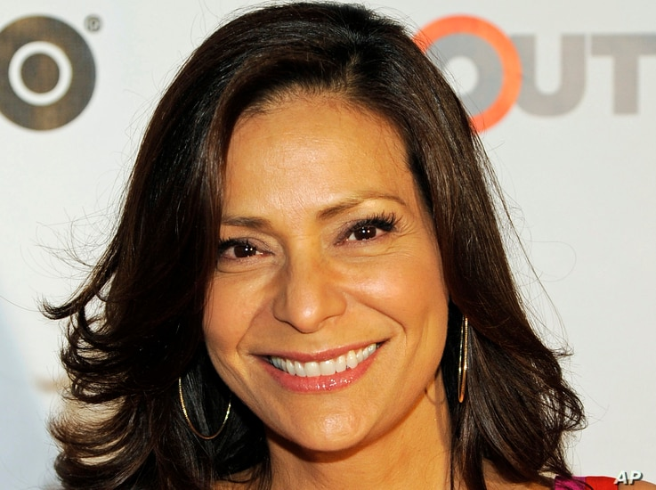 FILE - Actress Constance Marie.