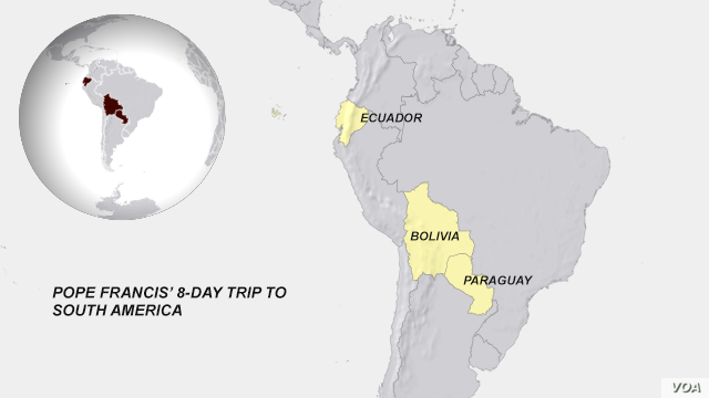 Pope Francis' Trip to South America