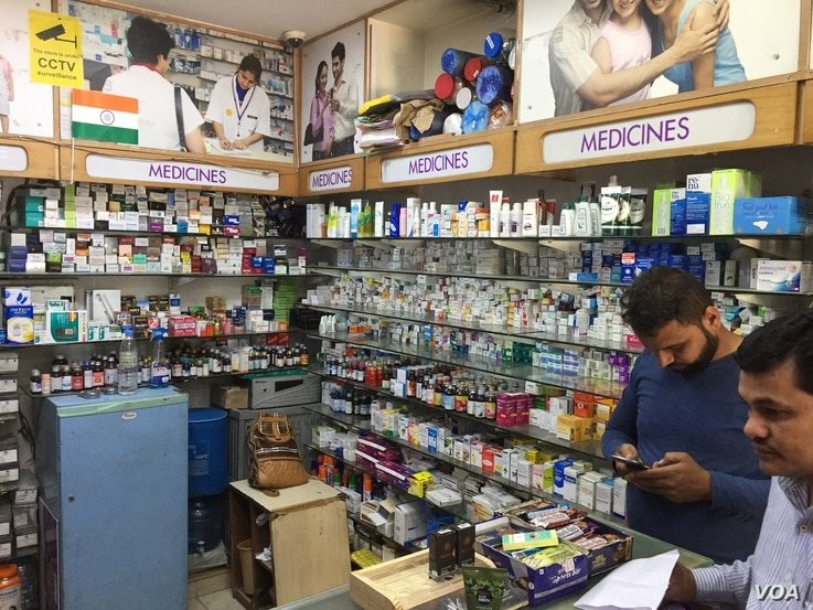 Generic drugs produced by Indian pharmaceutical companies make medicines affordable, but India says that China does not provide market access to its generic drugs.