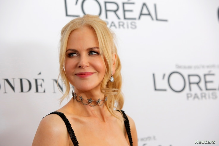 Actor Nicole Kidman attends the 2017 Glamour Women of the Year Awards at the Kings Theater in Brooklyn, New York, Nov. 13, 2017.